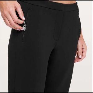NWT Black lululemon on the move pants